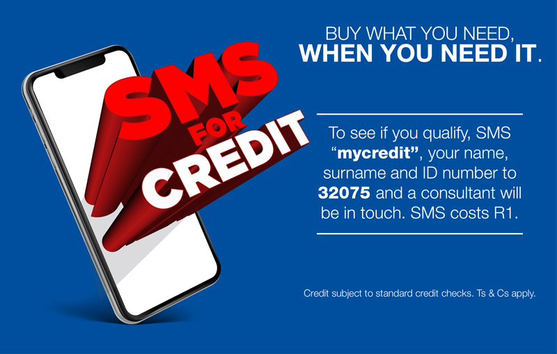 SMS for Credit